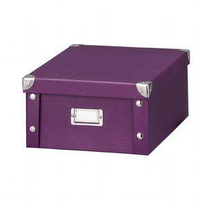boite rangement carton avec couvercle achat vente. Black Bedroom Furniture Sets. Home Design Ideas