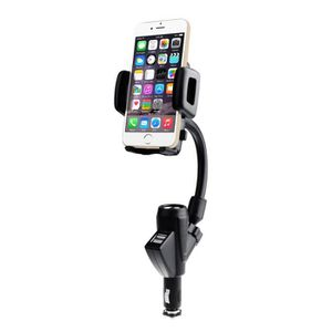 FIXATION - SUPPORT Deux ports USB Support voiture Chargeur avec charg