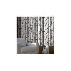 papier peint for t de bouleaux achat vente papier peint soldes cdiscount. Black Bedroom Furniture Sets. Home Design Ideas