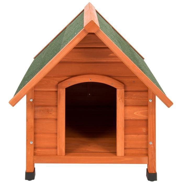 aime niche en bois t4 112x97x104cm pour chien achat. Black Bedroom Furniture Sets. Home Design Ideas