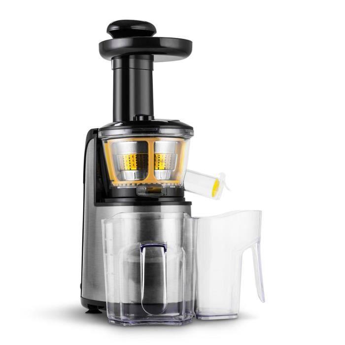 Klarstein Fruitpresso Nero II Slow Juicer Acier... - Achat / vente CENTRIFUGEUSE - Cdiscount