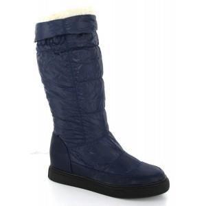 bottes femme de pluie fourr es b achat vente bottes femme de pluie fourr bleu pas cher. Black Bedroom Furniture Sets. Home Design Ideas