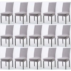 Housse de chaise taupe achat vente housse de chaise for Achat housse de chaise