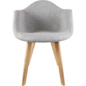 fauteuil scandinave achat vente fauteuil scandinave pas cher cdiscount. Black Bedroom Furniture Sets. Home Design Ideas