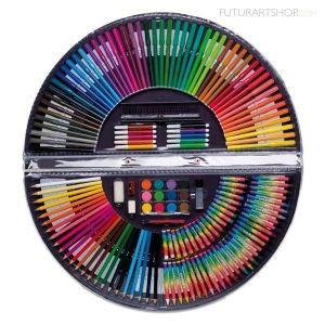 coffret crayons de couleurs achat vente coffret crayons de couleurs pas cher cdiscount. Black Bedroom Furniture Sets. Home Design Ideas
