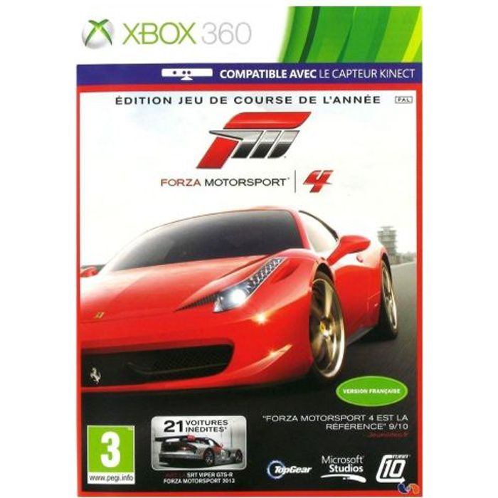 JEUX XBOX 360 Forza Motorsport 4 Goty Jeu XBOX 360
