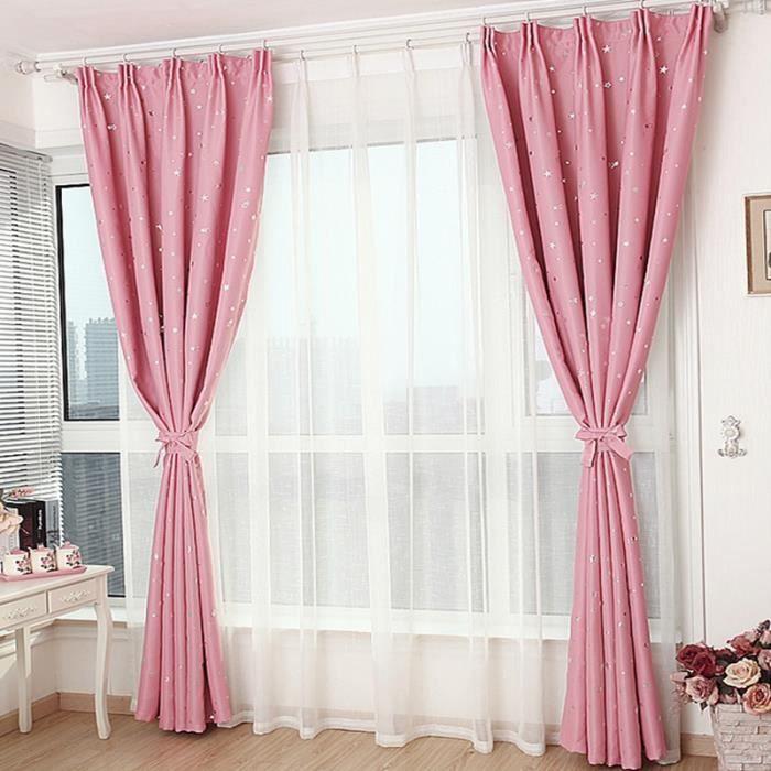 Rideaux de la chambre voilage rideau voilage nouveau rideau salon curtain 140 - Maison coloree rideaux ...