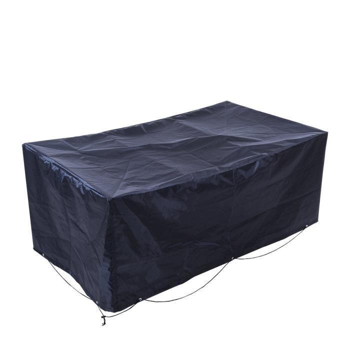 Couverture housse parapluie impermeable pour meuble de for Housse couverture