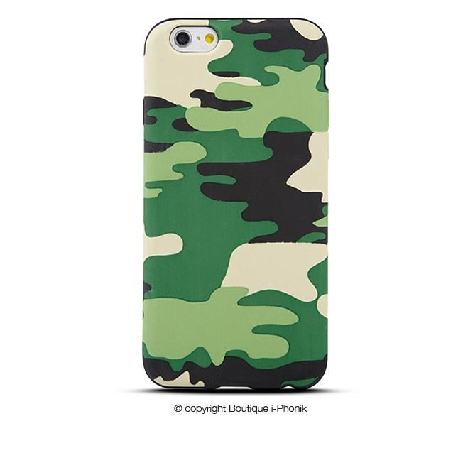 Housse silicone camouflage pour iphone 6 achat coque for Housse silicone iphone 7