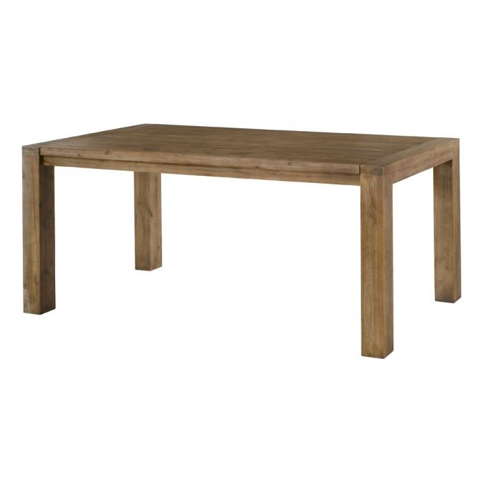 Table repas 180 cm avec allonge 50 cm en acacia achat for Repas avec amis