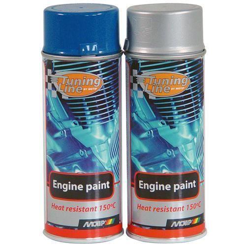 Bombe de peinture pour moteur motip bleu ford achat vente peinture auto - Peinture mat essence ...