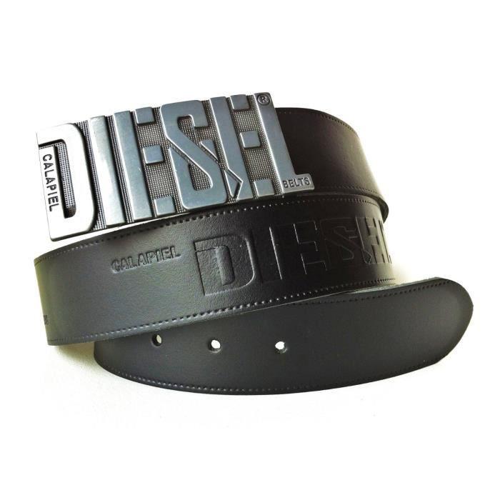 ceinture homme cuir motor diesel belt calapiel achat vente ceinture et boucle cdiscount. Black Bedroom Furniture Sets. Home Design Ideas