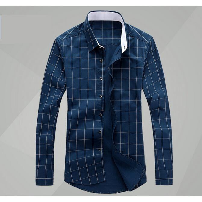 collection de l 39 automne hiver chemise homme d c bleu. Black Bedroom Furniture Sets. Home Design Ideas