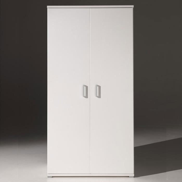 Paris prix armoire 2 portes milan blanc achat - Comparateur de prix congelateur armoire ...