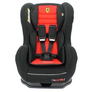 SIÈGE AUTO - RÉHAUSSEUR Siège Auto FERRARI inclinable 0/18 kg avec protect