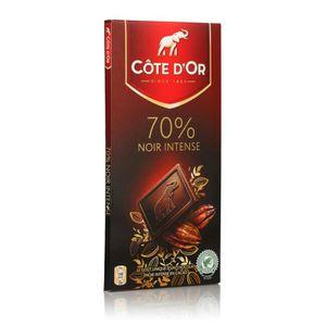 CHOCOLAT EN TABLETTE COTE D'OR Chocolat noir 70%, 6 x 100 gr