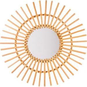 miroir rotin achat vente miroir rotin pas cher les soldes sur cdiscount cdiscount. Black Bedroom Furniture Sets. Home Design Ideas