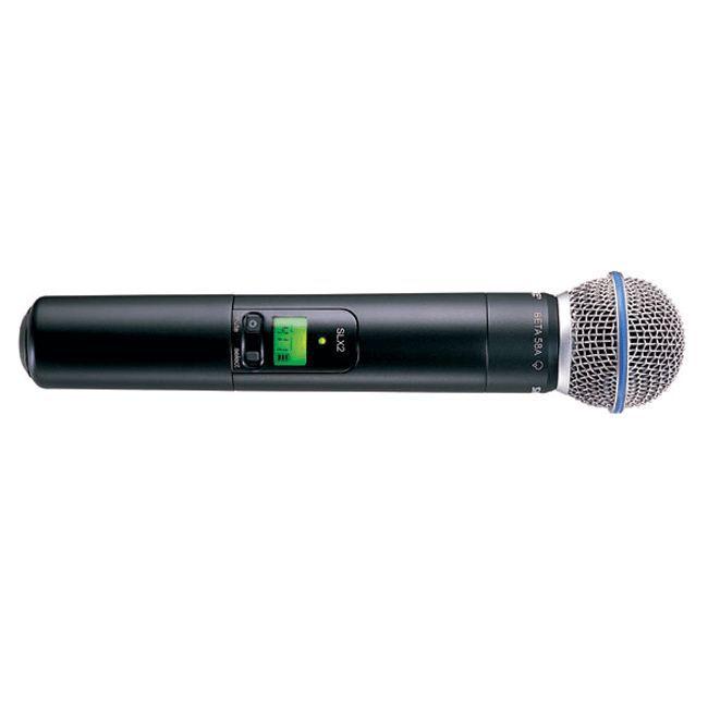 shure micro sans fil slx2 capsule beta58 microphone accessoire prix pas cher cdiscount. Black Bedroom Furniture Sets. Home Design Ideas