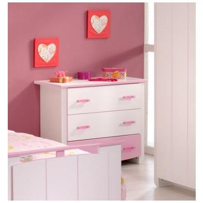 Commode enfant praline achat vente commode semainier commode enfant pra - Commode bebe cdiscount ...