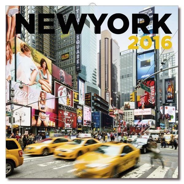 Calendrier mural 2016 new york color achat vente for Calendrier electronique mural francais