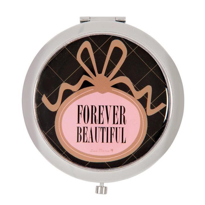 miroir de poche derri re la porte forever beaut achat vente miroir de poche miroir de. Black Bedroom Furniture Sets. Home Design Ideas