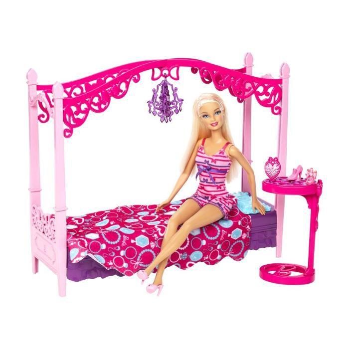 poup e barbie et mobilier salle de bain de mattel. Black Bedroom Furniture Sets. Home Design Ideas