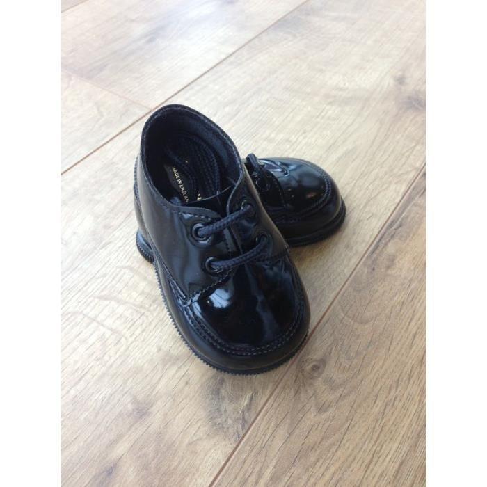 chaussure de c r monie gar on paul noir noir noir achat vente babies cadeaux de no l. Black Bedroom Furniture Sets. Home Design Ideas