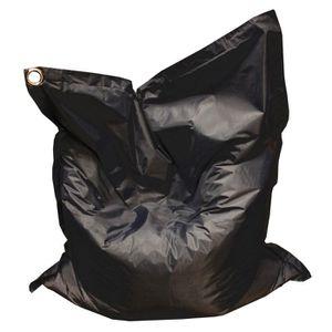POUF - POIRE BALI Pouf géant imperméable 130x150 cm noir