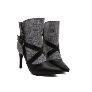 BOTTE DE CHASSE Femme chaleureux chaussures lacer Escarpin bottes