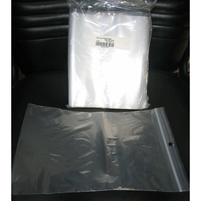 sachets avec fermeture zip 120x180mm par 100 achat vente sac alimentaire sachets avec. Black Bedroom Furniture Sets. Home Design Ideas