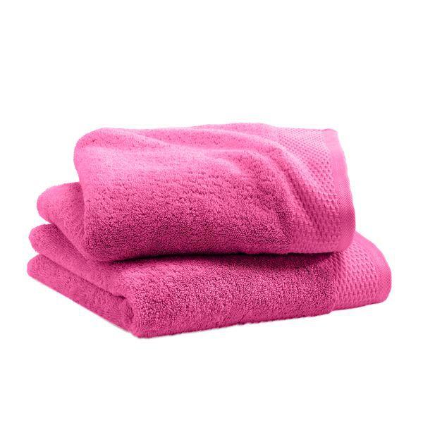Serviette cosy rose 50 x 100 cm lot de 2 achat vente serviettes de bain - Cdiscount linge de maison ...