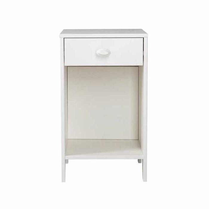 table de nuit enfant blanche lena achat vente armoire. Black Bedroom Furniture Sets. Home Design Ideas