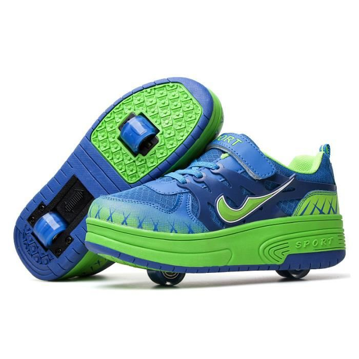 roller in line heelys enfants chaussures roulettes garons fill