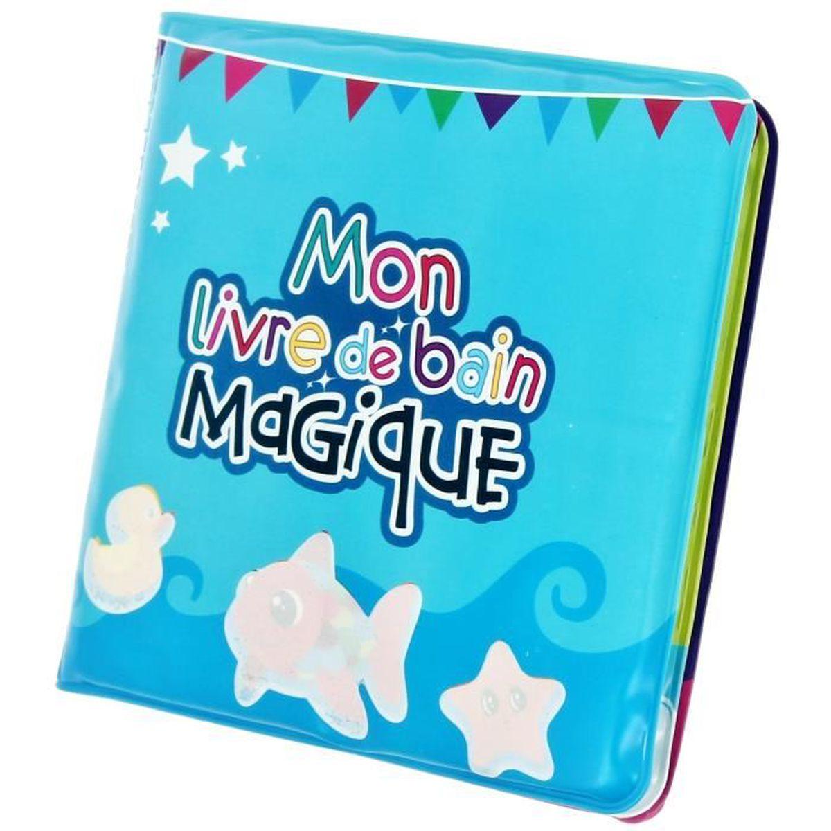 livre de bain magique jouet enfant norme ce eveil achat vente jouet de bain cdiscount. Black Bedroom Furniture Sets. Home Design Ideas