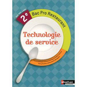 Livre bac pro cap bep achat vente livre bac pro cap for Technologie cuisine bac pro