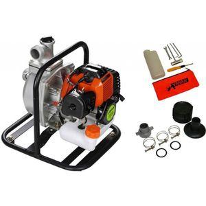 POMPE ARROSAGE Pompe à eau thermique Motopompe 52cc 3CV 15000 l/h