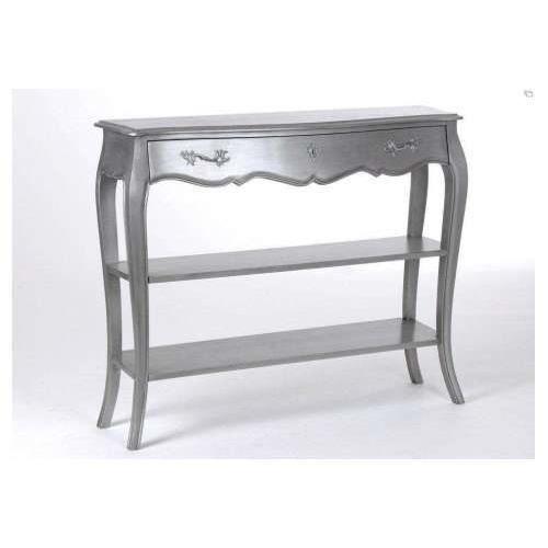 console argent e 2n de la marque amadeus achat vente console console argent e 2n de la m. Black Bedroom Furniture Sets. Home Design Ideas