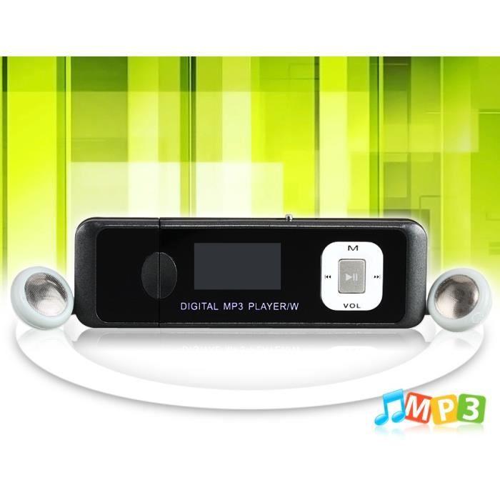 911 1 0 cran lecteur mp3 de 4 go usb flash drive black lecteur mp3 prix - Cdiscount lecteur mp3 ...