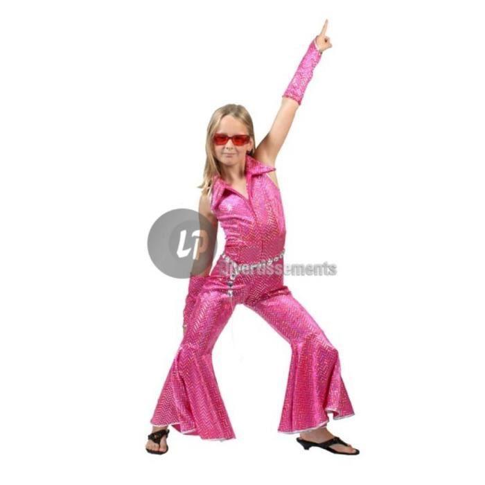déguisement disco fille 8 ans