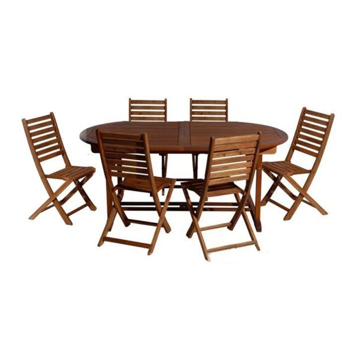 Best Table De Jardin Bois Exotique Pictures - Amazing House Design ...
