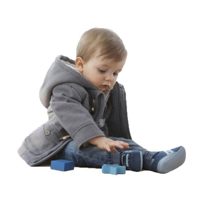 Gar ons veste pour enfants manteau manteaux kid gray achat vente blouson gar ons veste pour - Enfant garcon ...