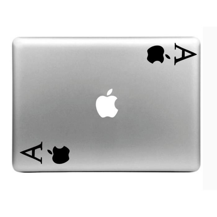 decal pour macbook pro peau vinyle autocollant spades mac. Black Bedroom Furniture Sets. Home Design Ideas