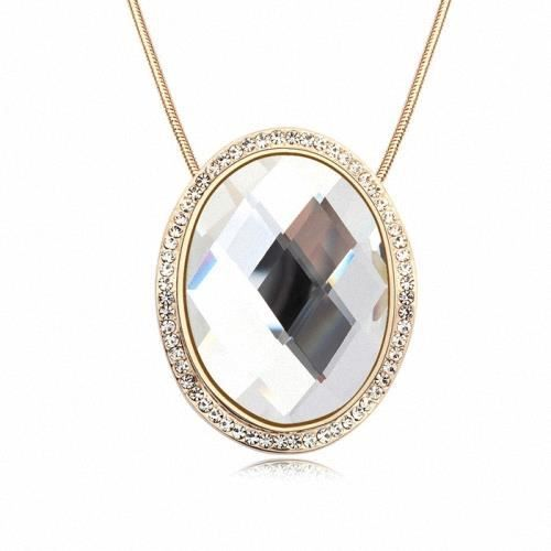 Collier princess 39 s magic mirror crystal clear achat for Mirror 700 x 700