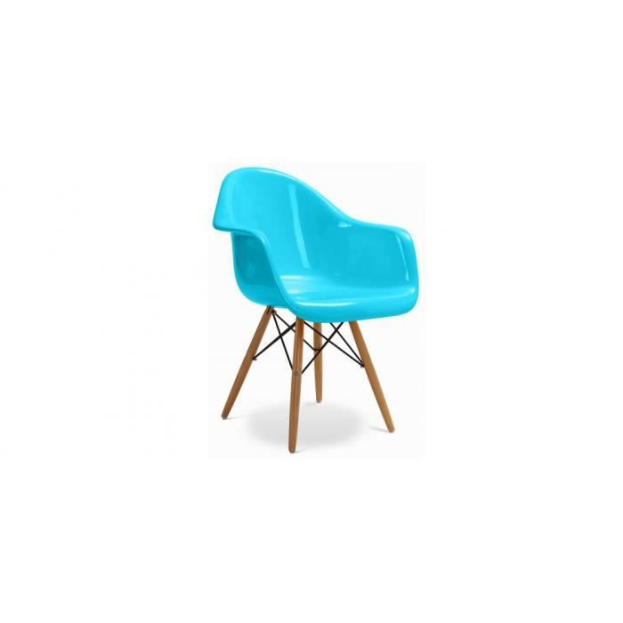 Chaise daw inspir e charles eames fibre de verre achat vente chaise c - Eames fibre de verre ...