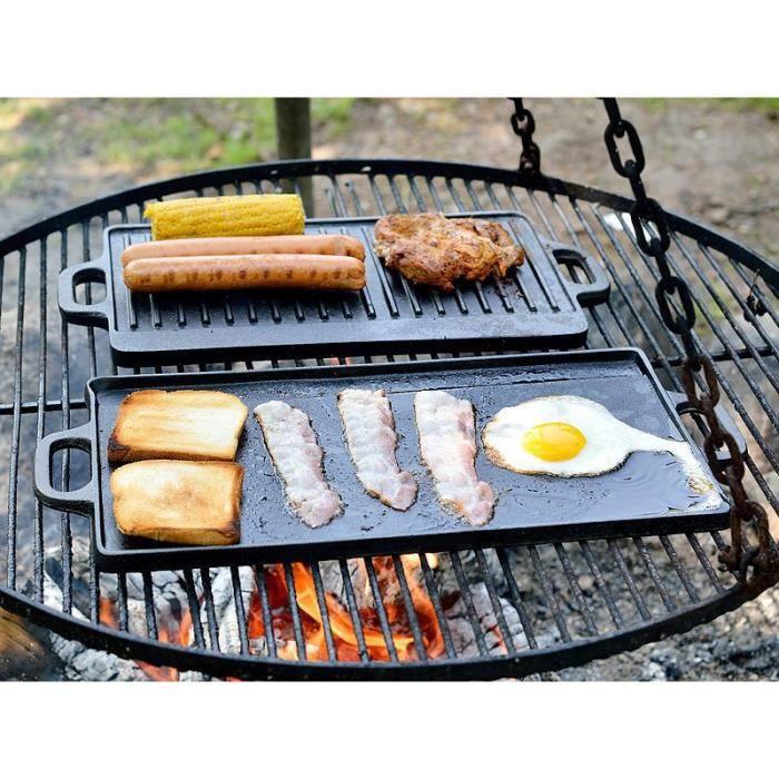 plaque gril de cuisson izicook en fonte achat vente plaque posable plaque gril de cuisson. Black Bedroom Furniture Sets. Home Design Ideas