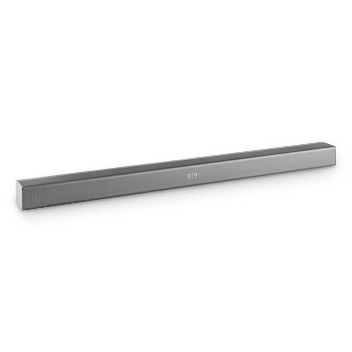 auna areal bar 350 barre de son 2 0 80w touch bluetooth usb fm aux m tal chrom barre de son. Black Bedroom Furniture Sets. Home Design Ideas