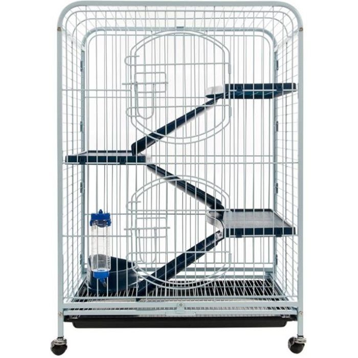 tyrol cage tower 64x44x93cm pour rongeur achat vente cage cage tower rongeur cdiscount. Black Bedroom Furniture Sets. Home Design Ideas