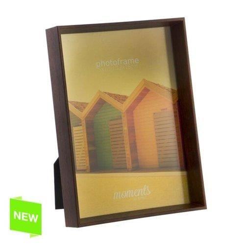 cadre photo marron 13x18 cm achat vente cadre photo. Black Bedroom Furniture Sets. Home Design Ideas