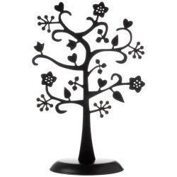 porte bijoux arbre fleurs noir achat vente pr sentoir bijoux porte bijoux arbre fleurs noir. Black Bedroom Furniture Sets. Home Design Ideas