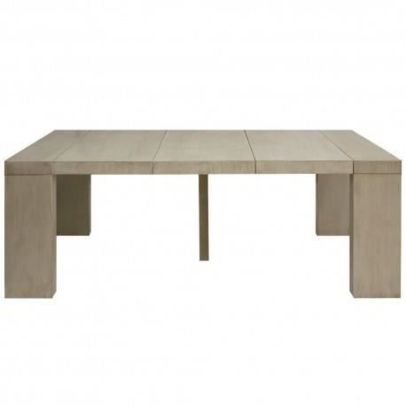 Table console extensible extensible faro taupe achat - Console couleur taupe ...